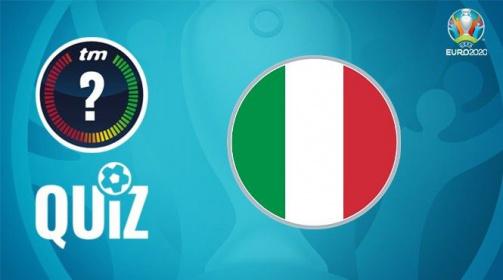 Jetzt mitspielen: 10 Fragen über die italienische Nationalmannschaft