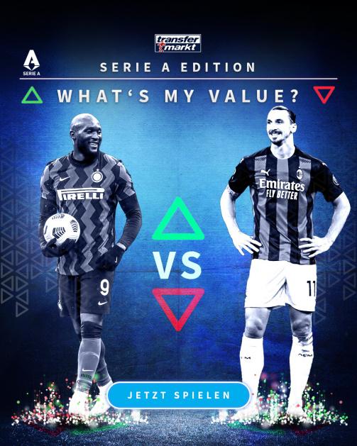 © imago images/TM - Wie hoch ist dein Highscore? Probiere jetzt das Whats My Value-Spiel in der Serie A-Edition aus!
