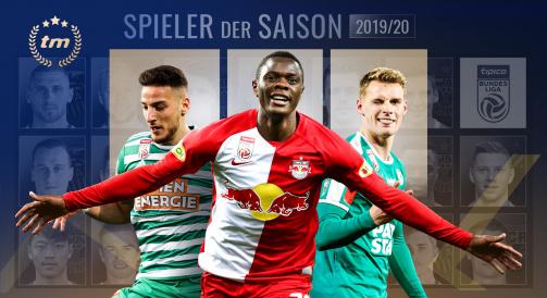 Der Spieler der Saison in Österreich - Hier geht´s zur Abstimmung!