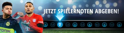 © imago images/TM - 28. Bundesliga-Spieltag: Jetzt Spielernoten abgeben