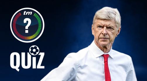 TM-Quiz: Teste dein Wissen über Arsène Wengers Karriere
