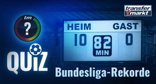 Zum TM-Quiz: Bundesliga-Rekorde