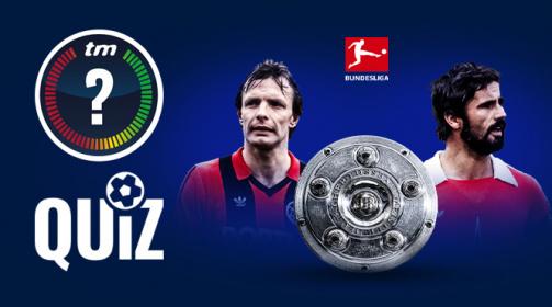 Quiz zu Bundesliga-Rekorden