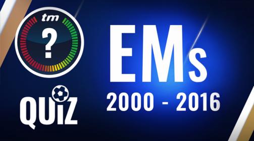 TM-Quiz: 10 Fragen zu den Europameisterschaften im 21. Jahrhundert