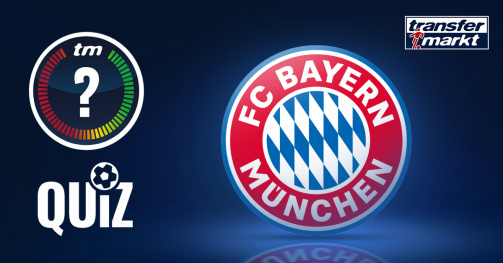 © Transfermarkt - Was weißt du über den FC Bayern? Teste dein Wissen in unserem Quiz!