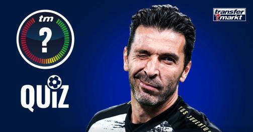 © tm/imago images - Was weißt du über Gigi Buffons Karriere? Teste dein Wissen im TM-Quiz!
