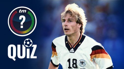 © Transfermarkt - Was weißt du über Jürgen Klinsmann? Teste dein Wissen in unserem Quiz!