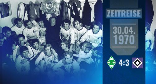 Vor 50 Jahren: Gladbachs erste Meisterschaft in der TM-Zeitreise