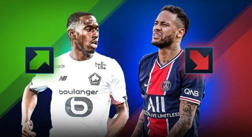 Przegląd nowych wartości rynkowych w Ligue 1