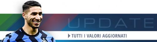 Serie A: gli ultimi cambiamenti dei valori di mercato
