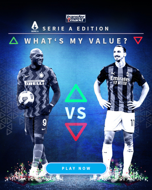"Play the Serie A edition of ""What's my value?"" now!"
