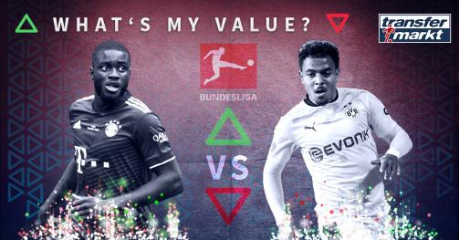 © tm/imago images - Teste jetzt dein Marktwertwissen: What's My Value in der Bundesliga-Edition (Link zum Spiel)