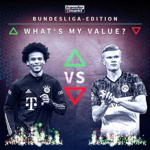 © imago images/TM - Wie hoch ist dein Highscore? Probiere jetzt das Whats My Value-Spiel in der Bundesliga-Edition aus!