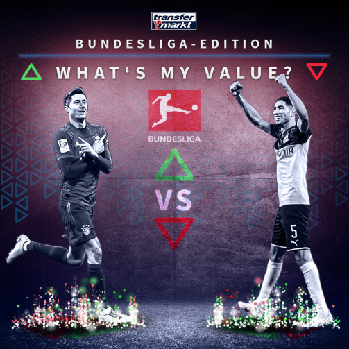 "Teste dein Marktwert-Wissen in der Bundesliga-Edition von ""What's my value?"""