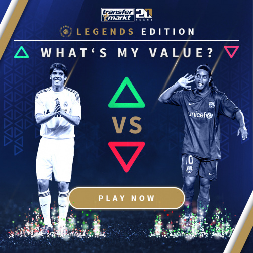 Play Now! What's My Value? Legends Edition