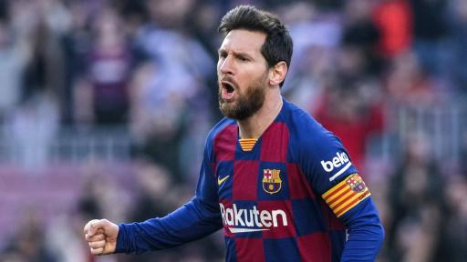 Messi Tore 19/20