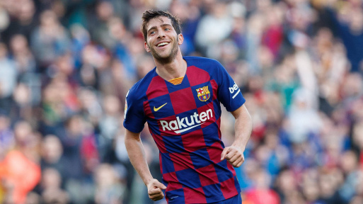 Barcelona defender, Sergi Roberto tests positive for coronavirus || PEAKVIBEZ