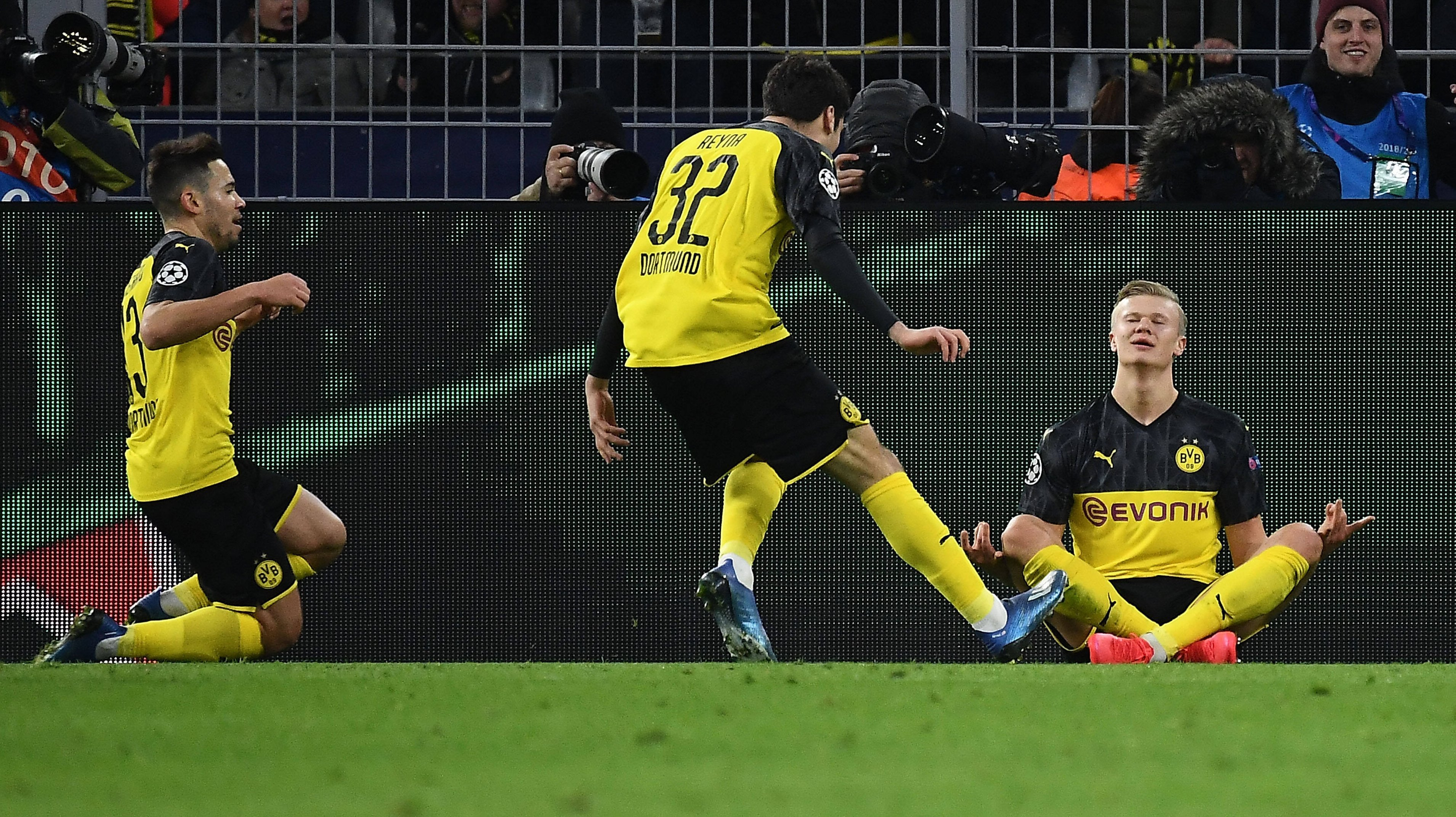 Haaland With A New Record Reyna Youngest Bvb Player Dortmund Beat Psg 2 1 Transfermarkt