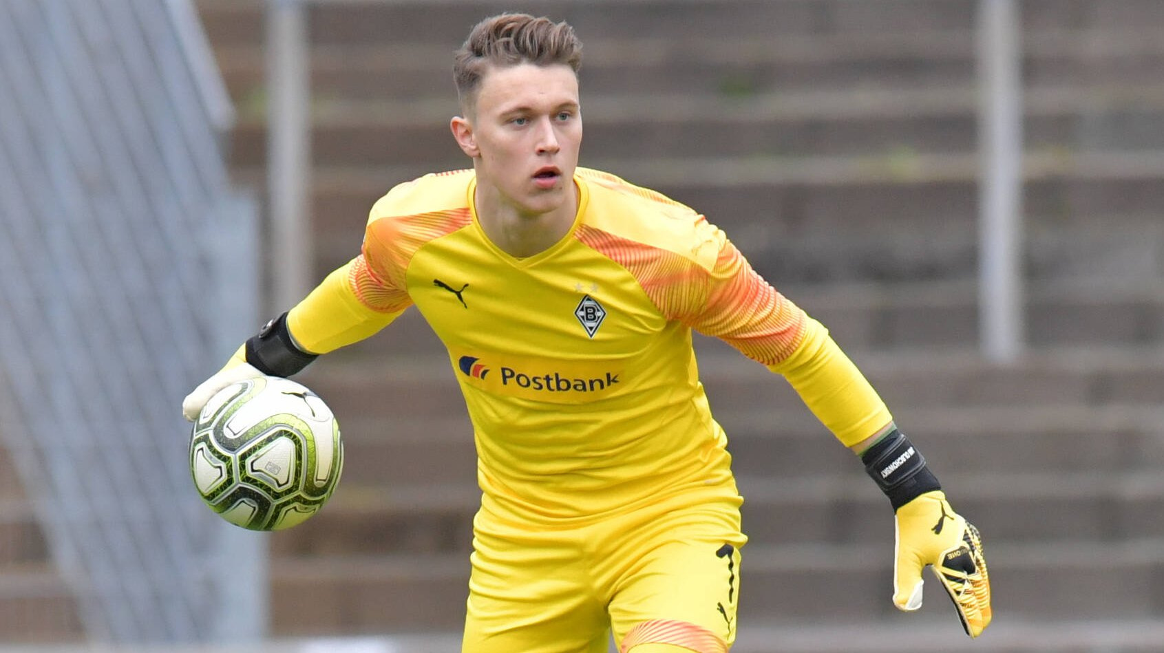 Borussia Monchengladbach Grosses Torwarttalent Olschowsky Erhalt Profivertrag Transfermarkt