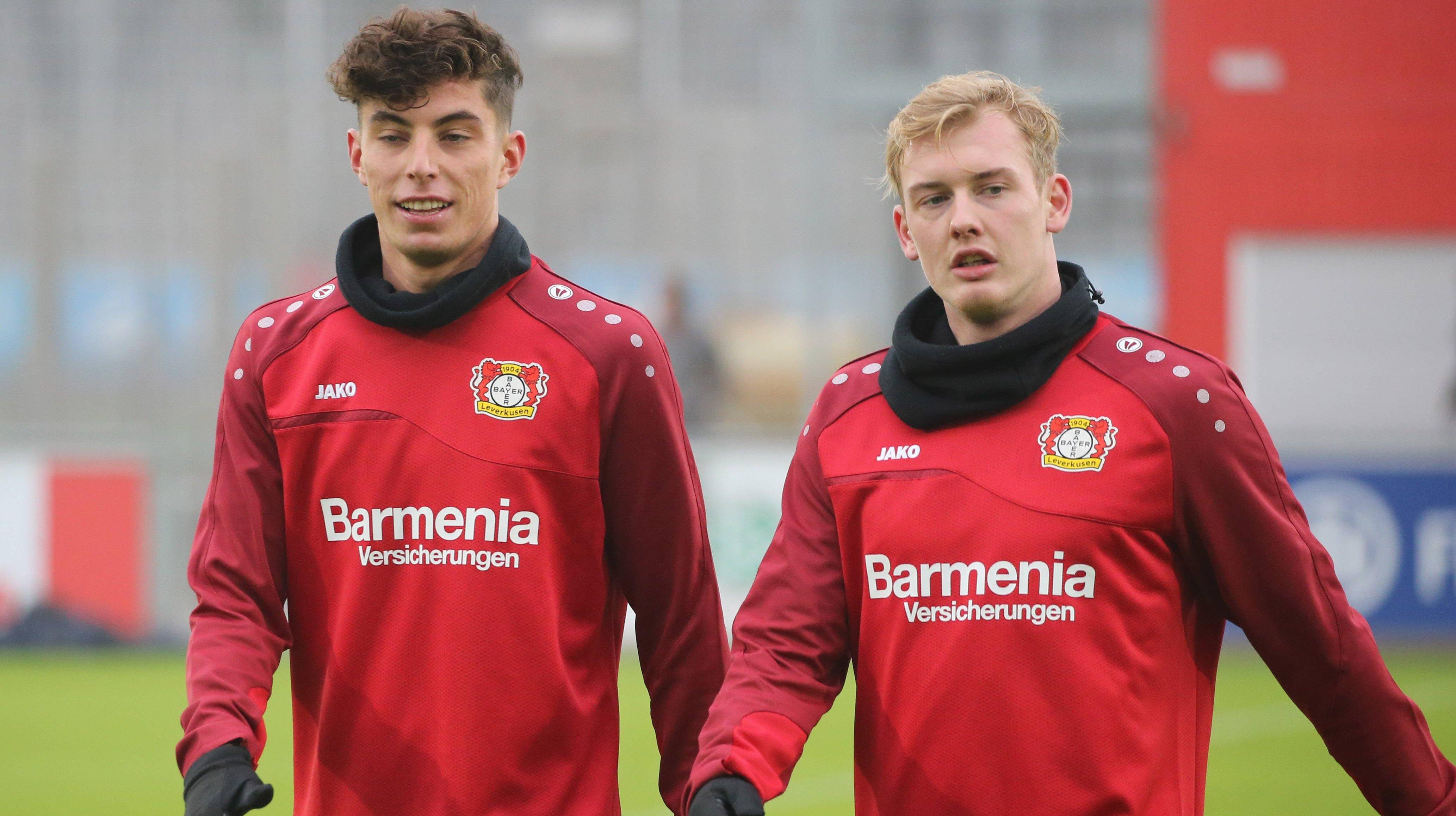 """Völler Havertz bleibt in Leverkusen – Bei Brandt """"Entscheidung ..."""