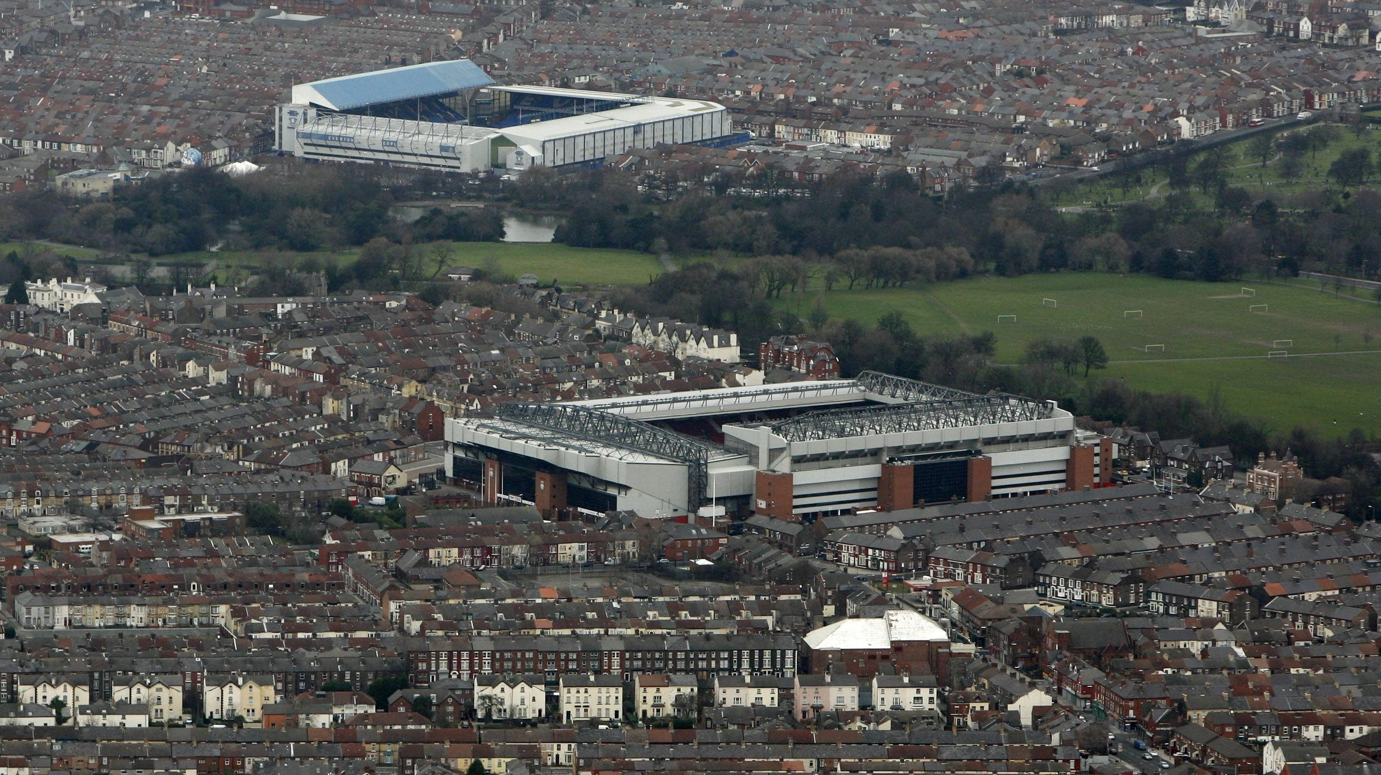 Merseyside derby to take place at Goodison Park - Liverpool could claim  Premier League title | Transfermarkt