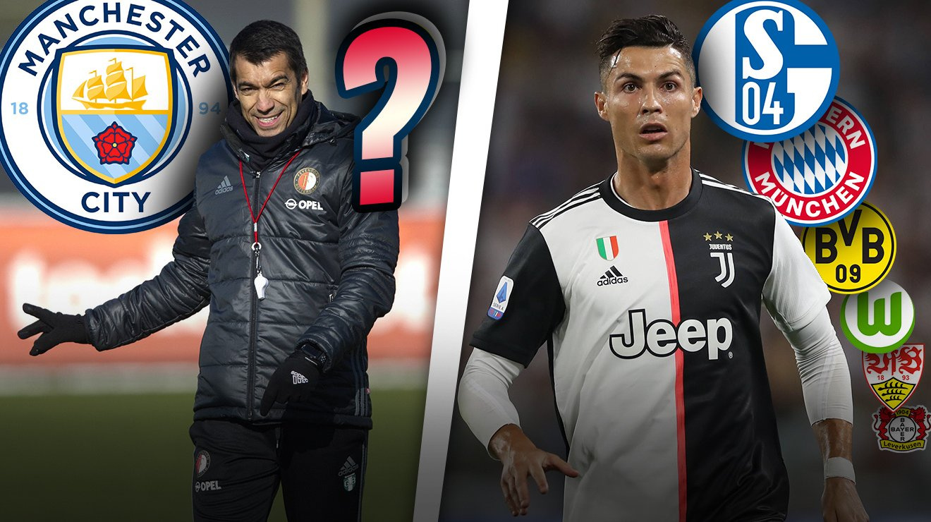 Man City: Van Bronckhorst Guardiolas Erbe? Ronaldos Bilanz gegen  Bundesliga-Klubs