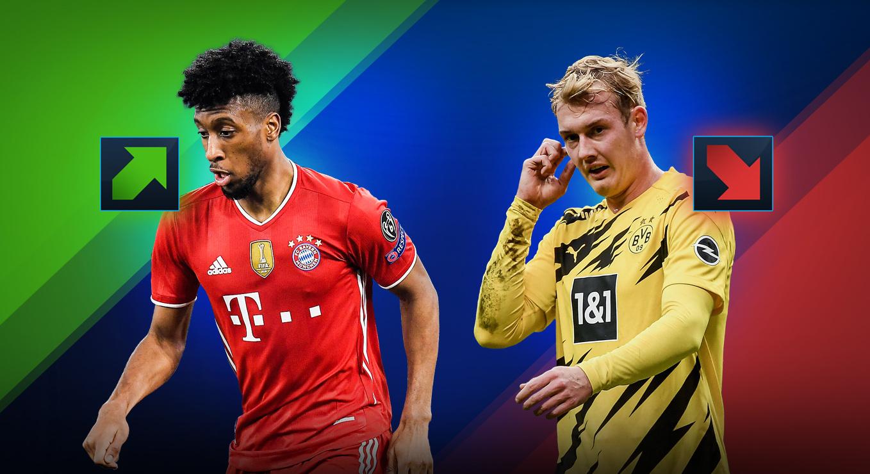 Valori di mercato Bundesliga: André Silva sale, giù Kluivert e ...