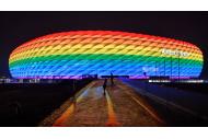 Allianz Arena Euro 2020 Regenbogen Rainbow