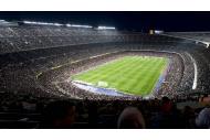 Camp Nou 2012 Flutlicht