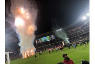 Feuerwerk beim LAFC