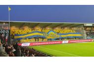 Groundhopping Aalborg BK Gästetribüne