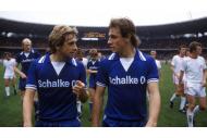 Kremers & Abramczik vom FC Schalke in der Saison 1977/78 gegen Köln