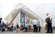 Leeds United Stadion an der Elland Road