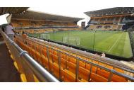 Molineux Stadium der Wolverhampton Wanderers