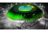 Stadion Bursaspor Nacht für Quiz