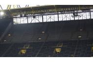 Südkurve BVB ohne Fans, leer