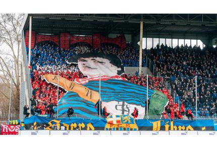 1. FC Saarbrücken, Choreo Auswärts