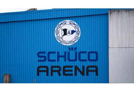 Arminia Bielefeld, Logo, Schüco-Arena