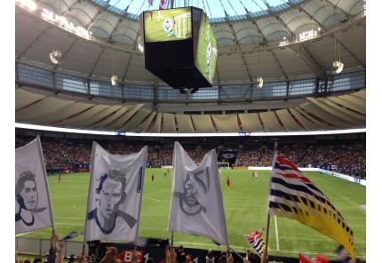 BC Place Stadium Innen