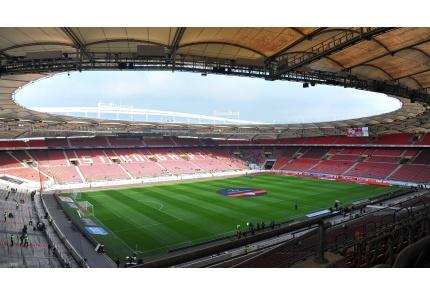 Die Mercedes-Benz-Arena in Stuttgart