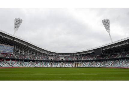 Dinamo-Stadion Minsk, Weißrussland, Belarus