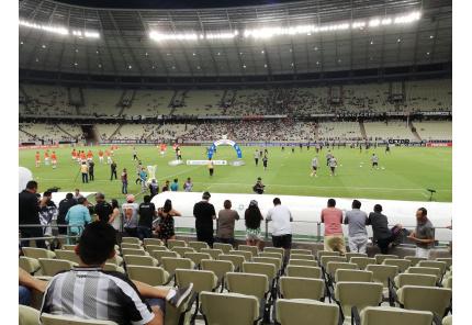 Estadio Castelao in Fortaleza