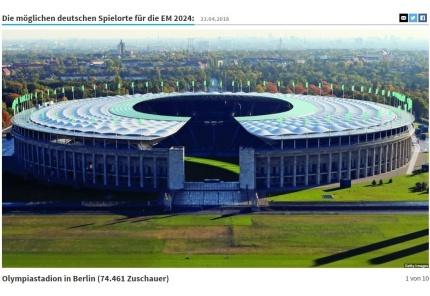Mögliche EM-Stadien 2024 in Deutschland, Olympiastadion Berlin