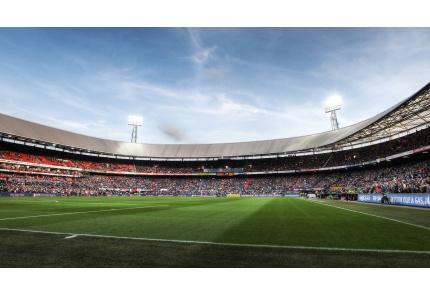 Stadion Feyenoord Rotterdam De Kuip