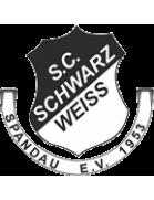 Schwarz Weiß Spandau 1953